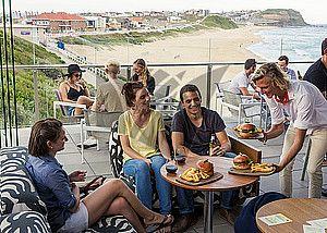 Trip 4 & 5: Sydney - Brisbane Inland Route   Surfhouse Restaurant, Merewether Surfhouse, Newcastle