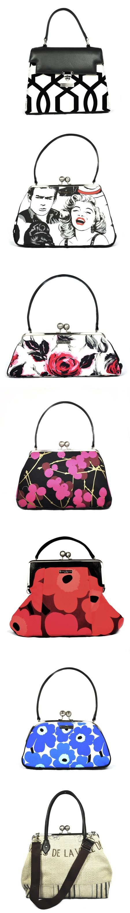 Hand Bags from Karen Wilson's 2012 Collection