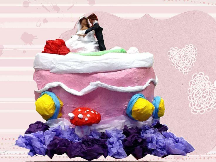 Ett brudpars giftermål!