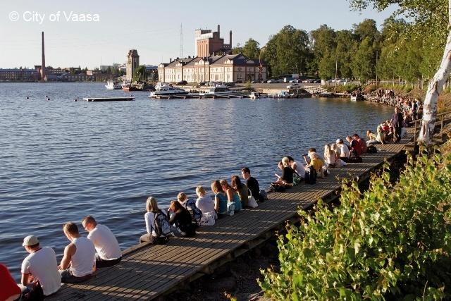 Youth feeling summer @ Vaasa. www.visitvaasa.fi. Photo: Jaakko J Salo