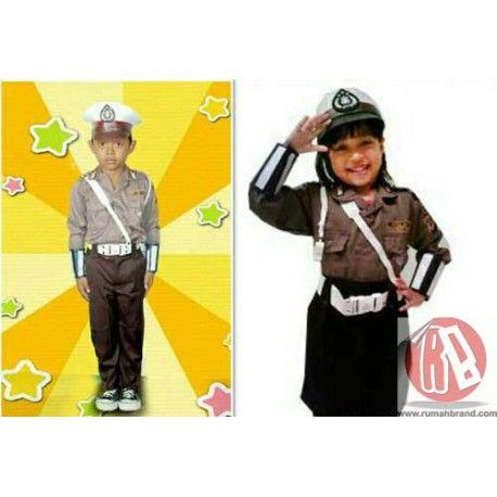 Seragam Polisi Anak (KC-2) @Rp. 135.000,-   http://rumahbrand.com/kostum-anak/1413-seragam-polisi-anak.html