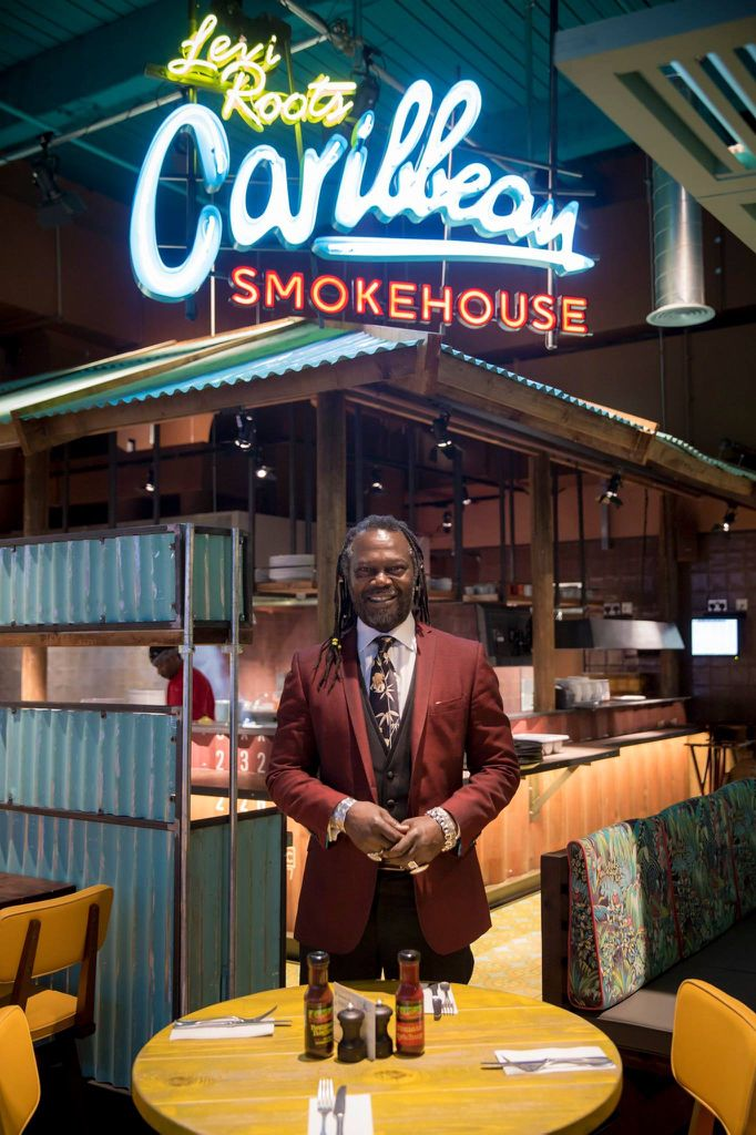 Congratulations to Levi Roots who has just opened his first restaurant in restaurant!Its called The Caribbean Smoke House and is Situated in Westfield shopping centre in Stratford city East London, one of the largest shopping malls in Europe.