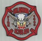 Altus AFB Oklahoma Fire Dept.