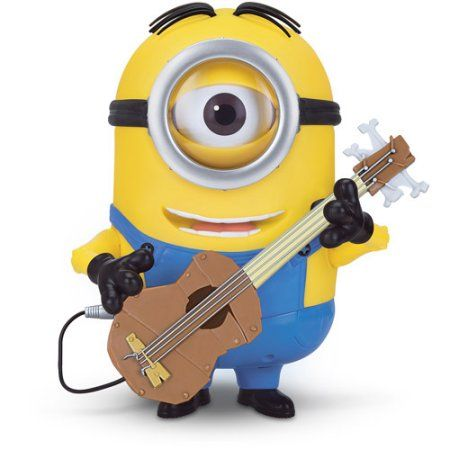 Minions Talking Stuart with Guitar, Yellow
