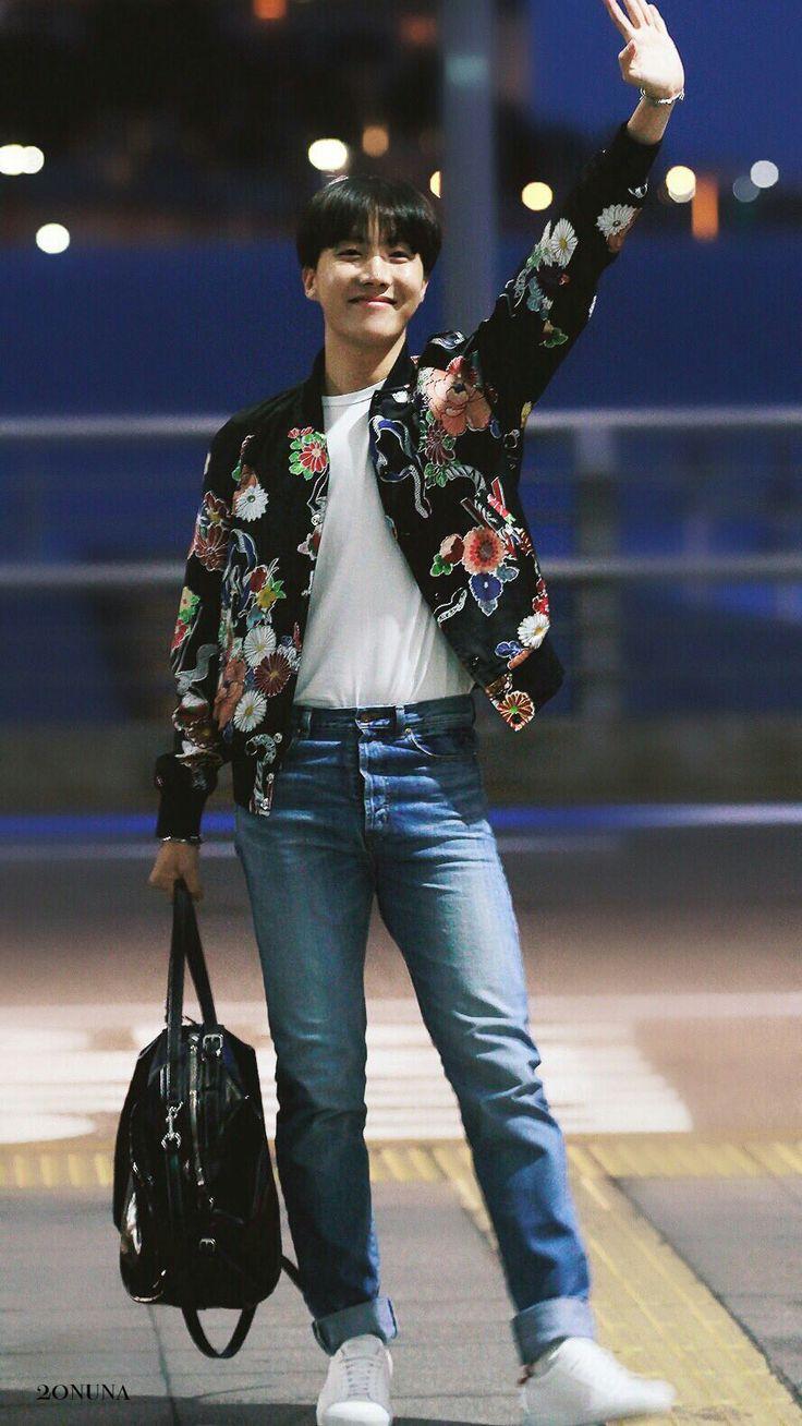 J-Hope BTS Heading To Las Vegas For The BBMAs! (170519) # ...