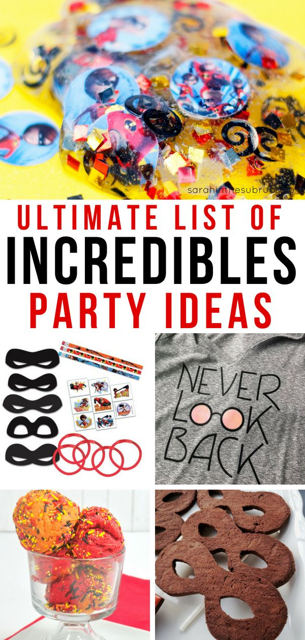 These Incredibles 2 Party Ideas Are, Well, Incredible! From Food To Fun To  Decor, Weu0027ve Got Your Party Plans Covered! Check Out The Options For DIY  And ...