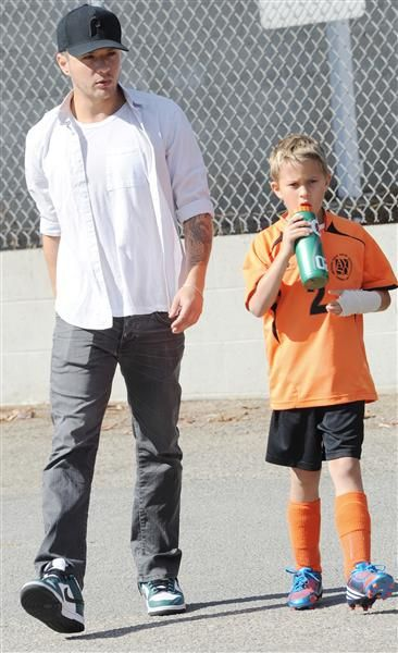 Ryan Phillippe and son Deacon Phillippe