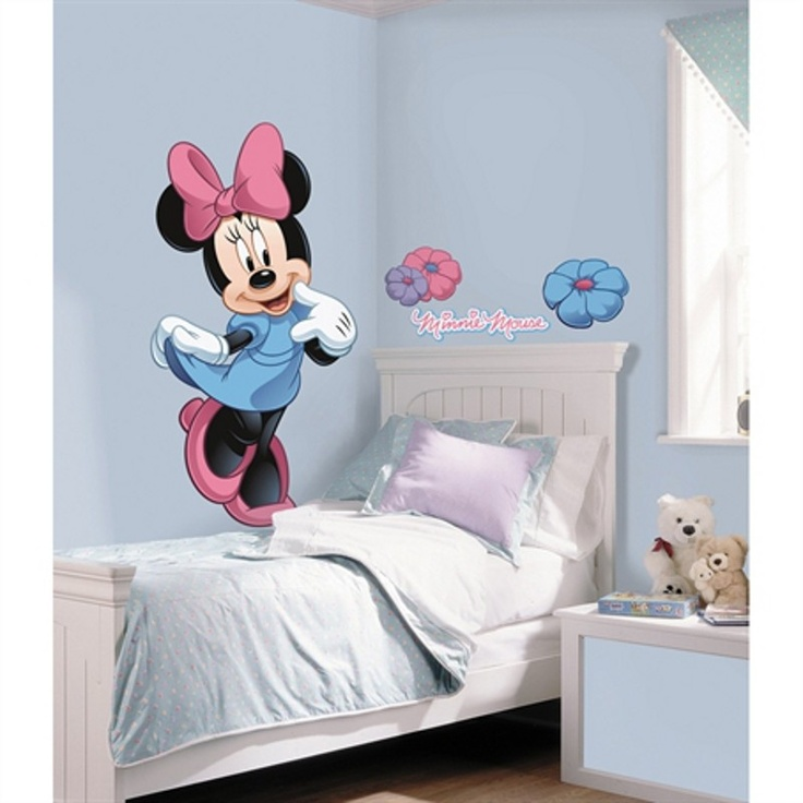 30 best chambre enfant mickey minnie mouse disney images for Stickers mickey chambre