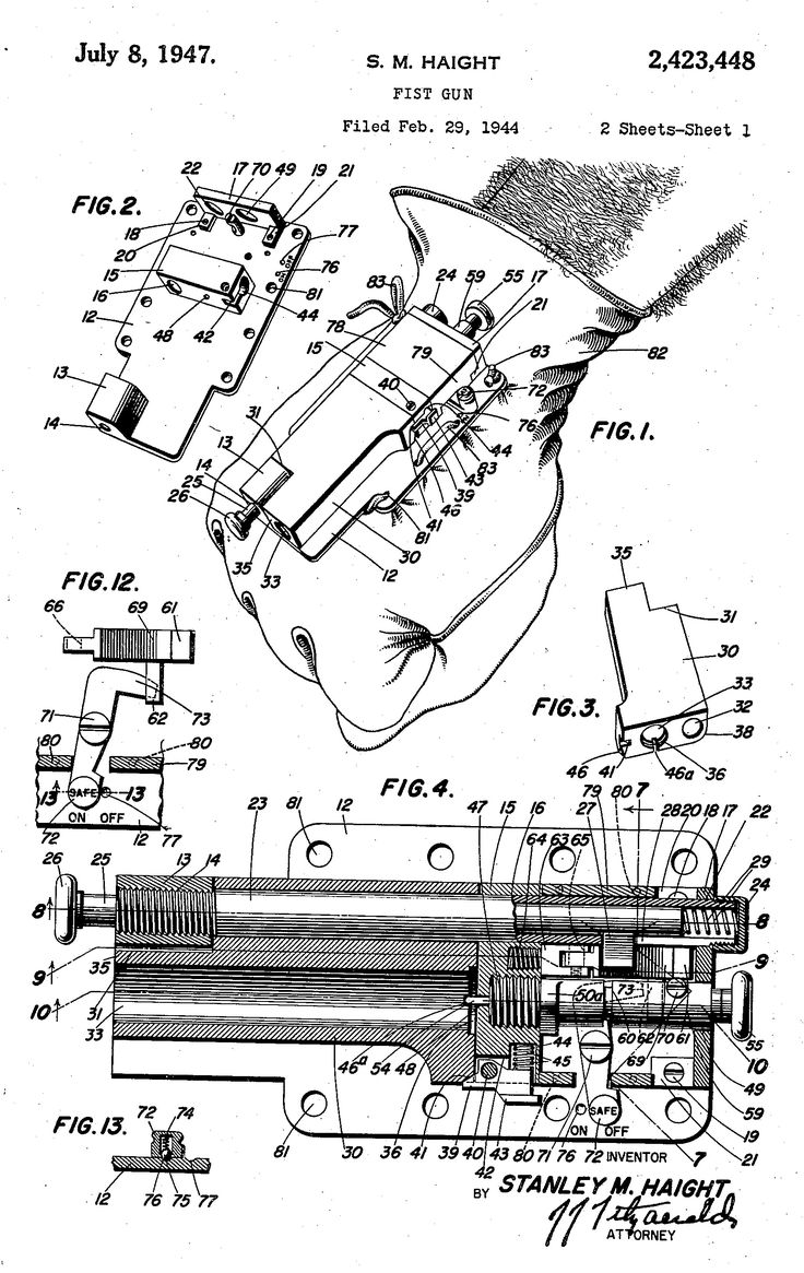 219 best diagrams images on pinterest hand guns revolvers and the glove gun was made by the sedgley company during wwii to protect airfield builders while they worked in the south pacific asfbconference2016 Choice Image