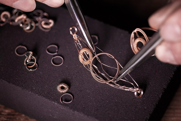 Soha Necklace Handmade in Sardinia. Such a wonderful method of filigree workmanship.