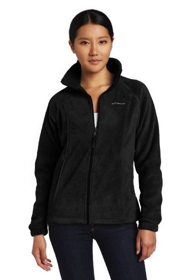 Columbia Women's Benton Springs Full Zip Jacket Polyester Machine Wash high  wide Interior draw cord Zippered hand pockets Full zipper Columbia keeps  things ...