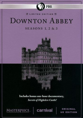 Masterpiece: Downton Abbey - Seasons 1-3 [9 Discs] [DVD]