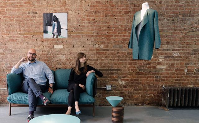 Yulia Yadryshnikova & Luca Nichetto: Fashion Meets Furniture at NYC's Design Week