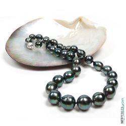 Collier de perles baroques de Tahiti