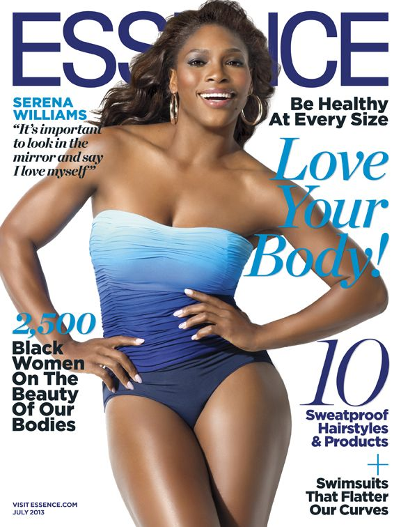 Serena Williams for Essence July 2013