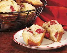 Penzey's Cherry Almond Muffins
