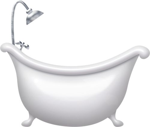 48 Best Bathroom Clipart Images On Pinterest