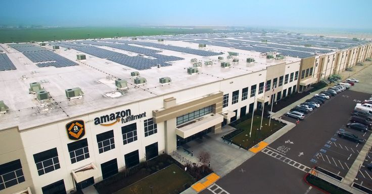 #World #News  Amazon begins large-scale rooftop solar installation across its warehouses  #StopRussianAggression #lbloggers @thebloggerspost