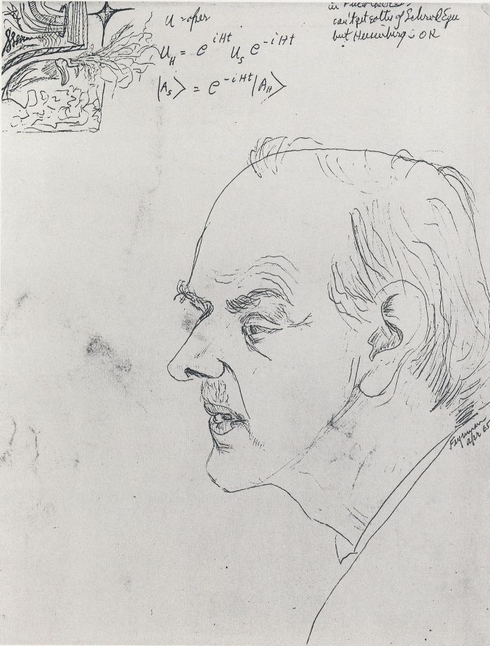 Richard P. Feynman   Ричард Филлипс Фейнман   Paul Dirac   1965