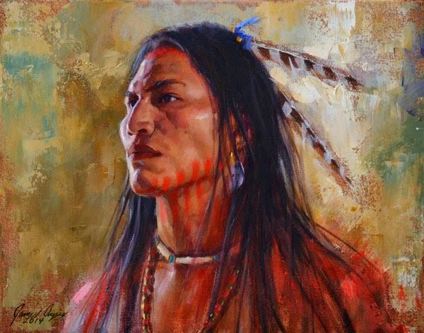 White Wolf : 20 James Ayer's outstanding paintings of Native American history
