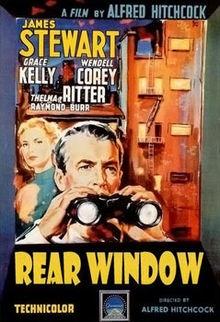 Rear Window, love old movies!