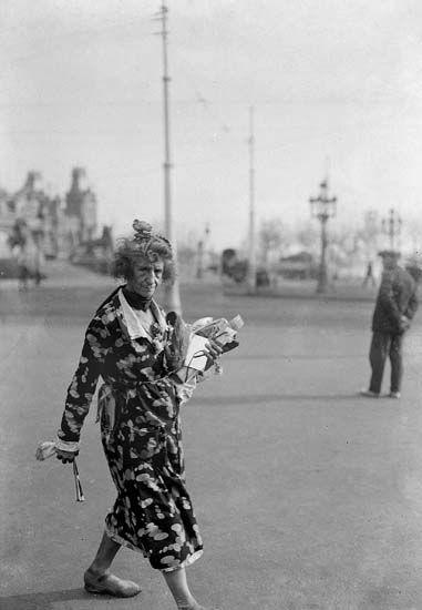 Retrato de la Moños. Barcelona, 1940. Colección Merletti / IEFC