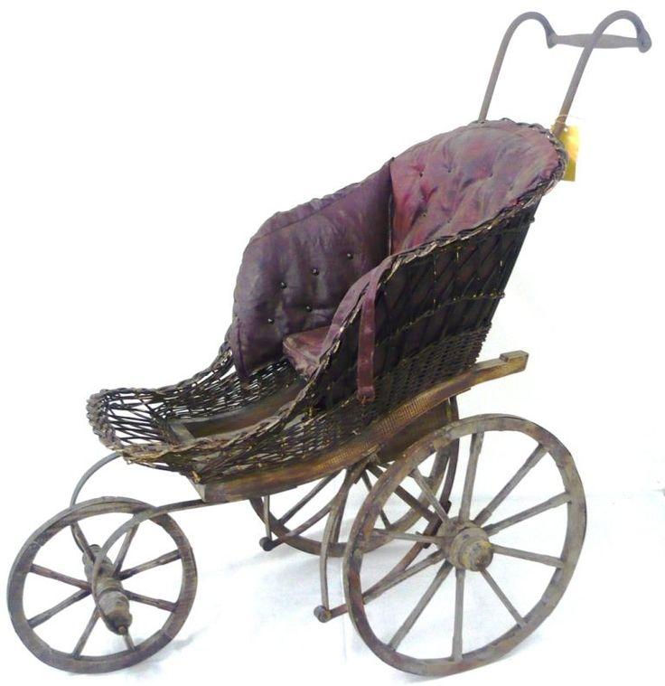 17 best images about old vintage antique prams and cribs. Black Bedroom Furniture Sets. Home Design Ideas