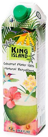 Кокосовая вода KING ISLAND, 1000 мл