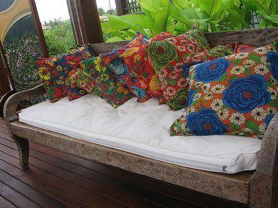 almofadas, inspiração para o sofá da sala
