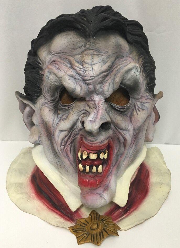 Dracula Vampire Mask Latex Paper Magic Group Halloween Costume Theater Cosplay #Unknown #Dracula #TheaterCostumeHalloween