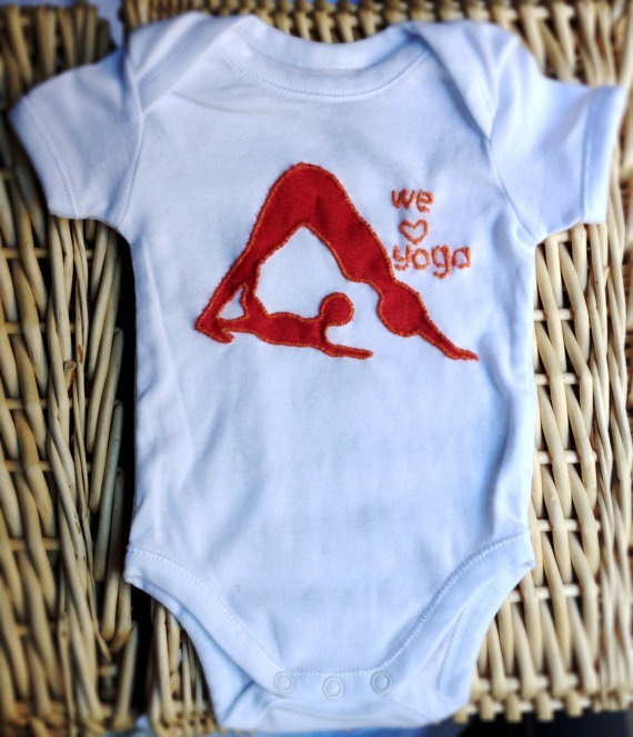 Yoga Baby 2 Pack Of Bodysuits With Different by YogaTotesSydney, $79.00
