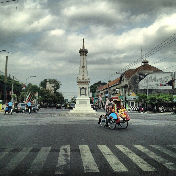 Monument Jogja at noon, Indonesia