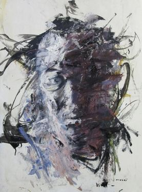 "Saatchi Online Artist Masri Hayssam; Painting, ""self111"" #art"