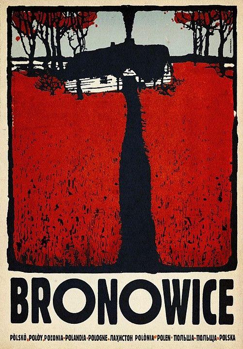 Bronowice | Polish Poster by Ryszard Kaja