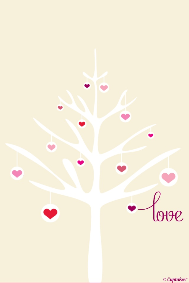 Tree of Love: Iphone Wallpapers, Iphone 5S, Iphone Backgrounds, Iphone Lockscreen, Iphone Mad, Happy Heart, Iphone5S Backgrounds, Heart Trees, Miphon Wallpapers