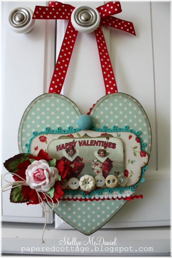 Papered Cottage: Be My Vintage Valentine