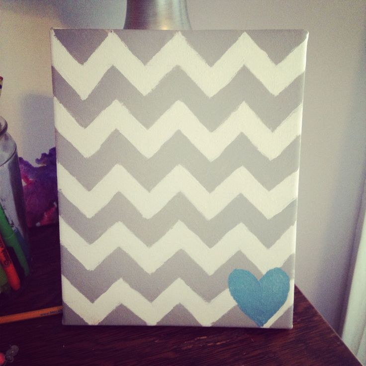 Canvas art, would be cute with words!