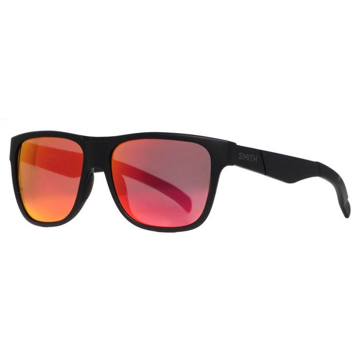Smith Optics Lowdown Matte Black DL5 BQ Carbonic Red Sport Sunglasses #SMITHOPTICS