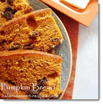 Pumpkin Bread Recipe.  This recipe was my grandma's.  I've been making this every holiday season for the past 25 years