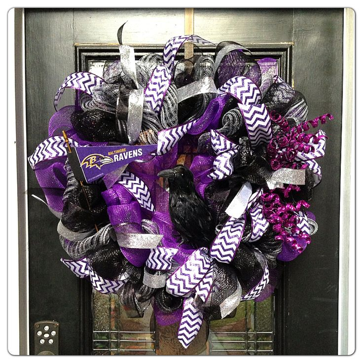 Baltimore Ravens wreath