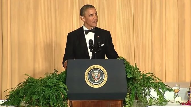 Obama 2014 White House Correspondents' Dinner