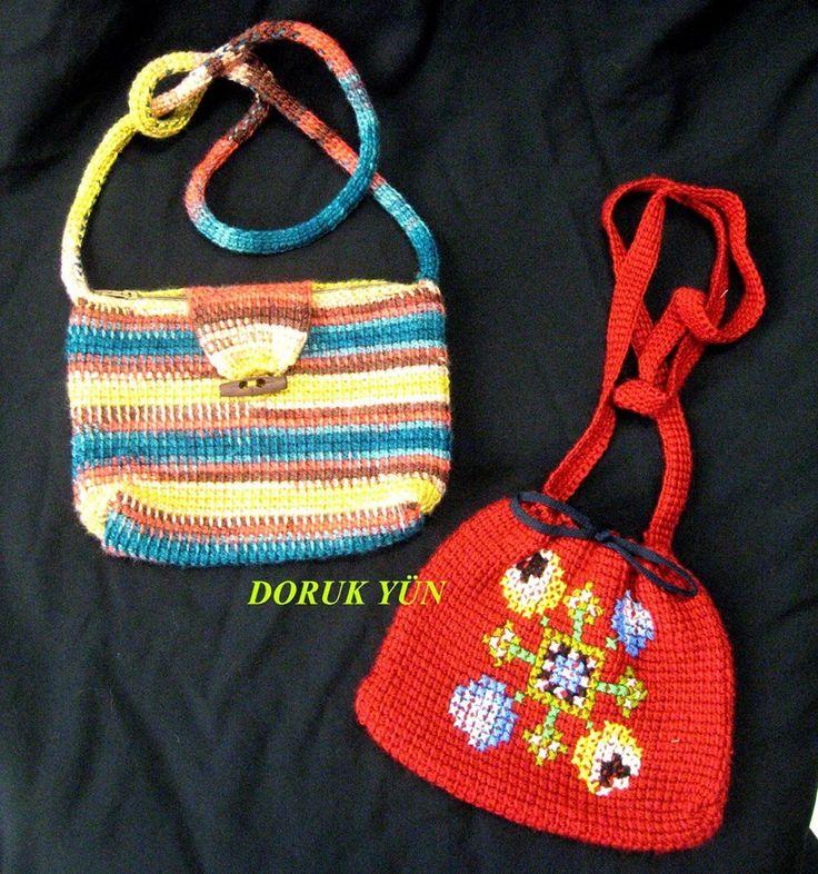 Prenseslerimize Sevgili Meral teyzeleri şık çantalar hazırlamış. Tabi çantasız olmaz, şimdiki fıstıkiyeler neler bulur o çantaya koyacak kim bilir? Ellerinize sağlık Meral Hanım.