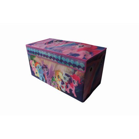 My Little Pony Movie Oversized Collapsible Storage Trunk, Purple