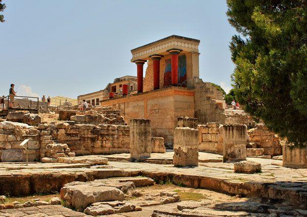 Knossos #palace in Creta