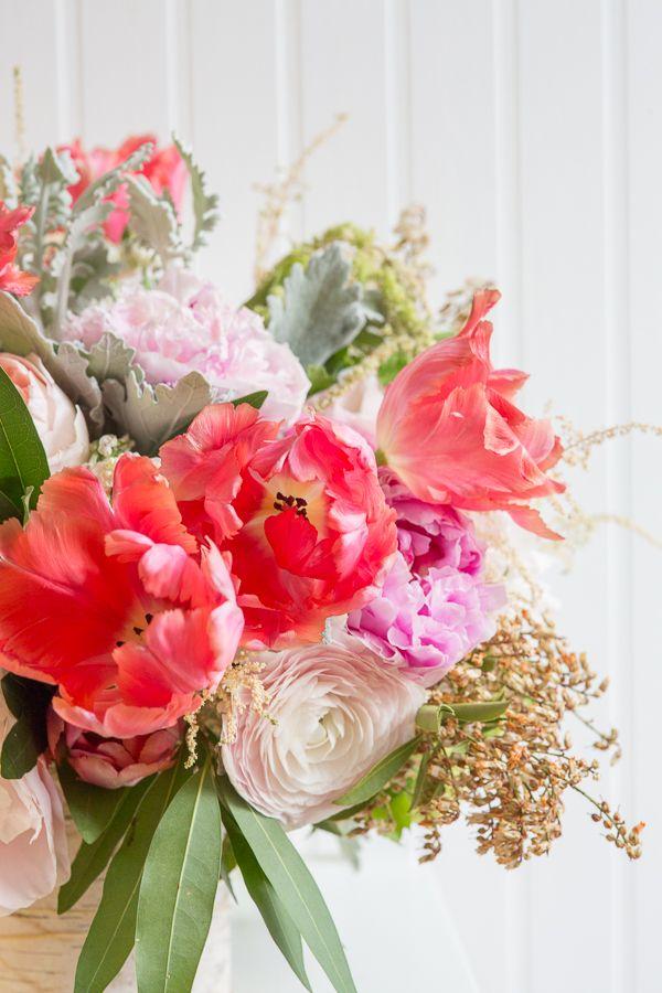 Spring Arrangement E.H. Floral & Rodeo & Co. Photography