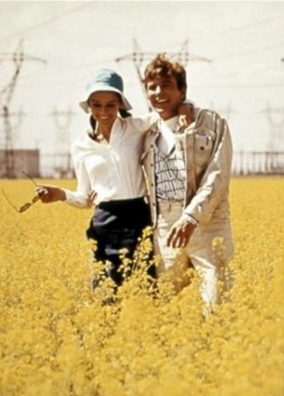 "Audrey Hepburn & Albert Finney in ""Two for the Road,"" 1967"
