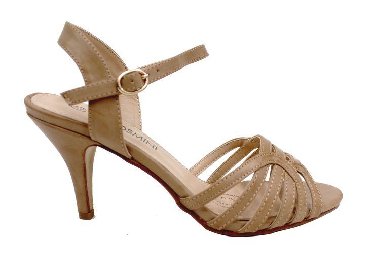 Calzado de vestir taco medio, encuéntralas en tiendas VIA ROSMINI !