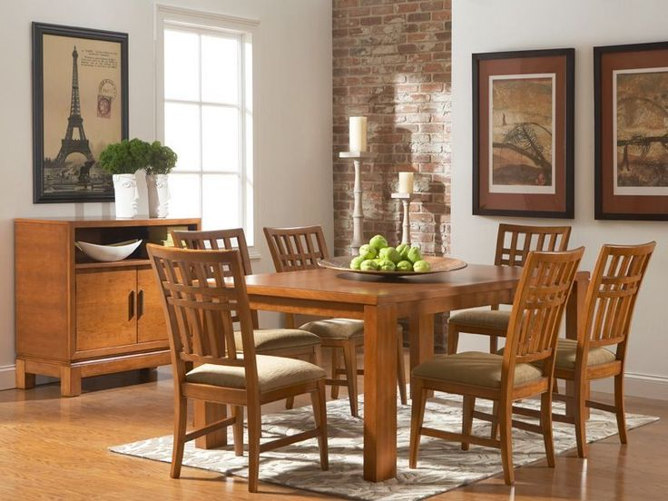 The Bainbridge Rectangle Dining Room Set Seats 4 And Offers Casual Comfort Minimalist Appeal Rent This Modern From CORT Today