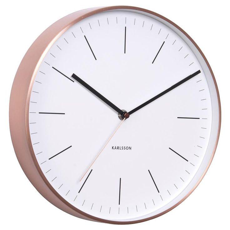 Minimal Copper Clock | Corner Store