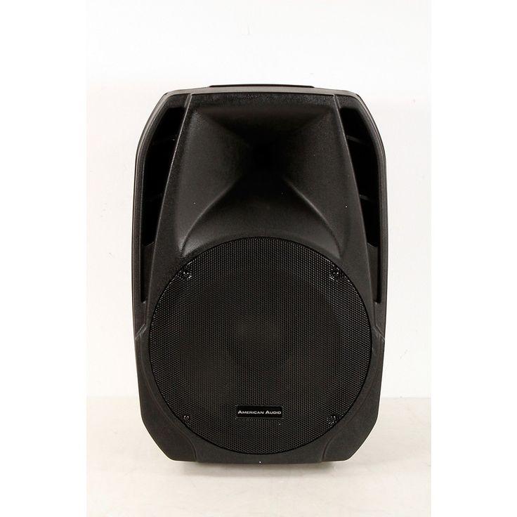 """American Audio ELS15A Lightweight 15"""" Active Speaker  888366005248"""
